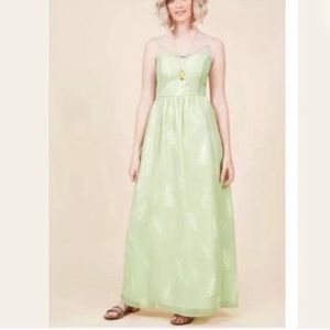 ModCloth Envision the Fern Dress, green, M